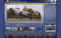 The public website for the Naval Air Systems Command