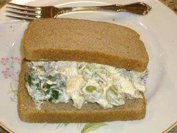 Chicken salad sandwich.